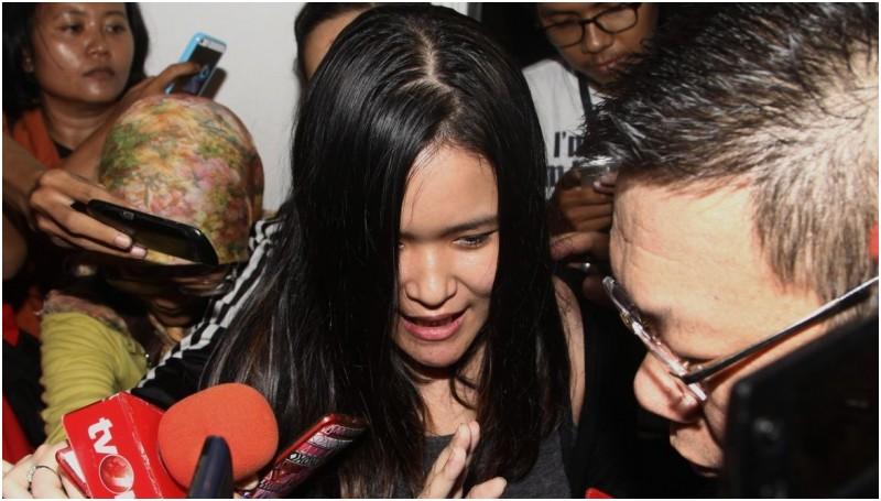 Jessica Kumala Wongso sedih perkaranya dinyatakan P21