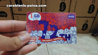 Voucher Kuota Internet Axis 1GB