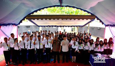 Bakar Semangat, Arifin Tegaskan Masa Depan Bangsa Ada Ditangan Pemuda