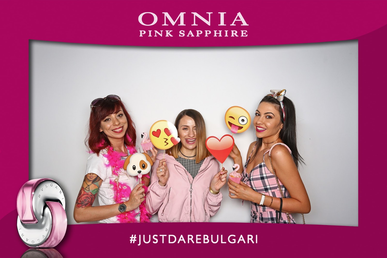 Omnia Pink Sapphire event