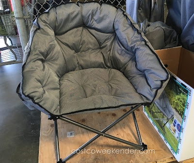Tofasco Extra Padded Club Chair - No flimsy camping chair here!