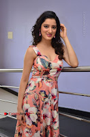 Actress Richa Panai Pos in Sleeveless Floral Long Dress at Rakshaka Batudu Movie Pre Release Function  0082.JPG