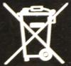 Logo tempat sampah yang disilang