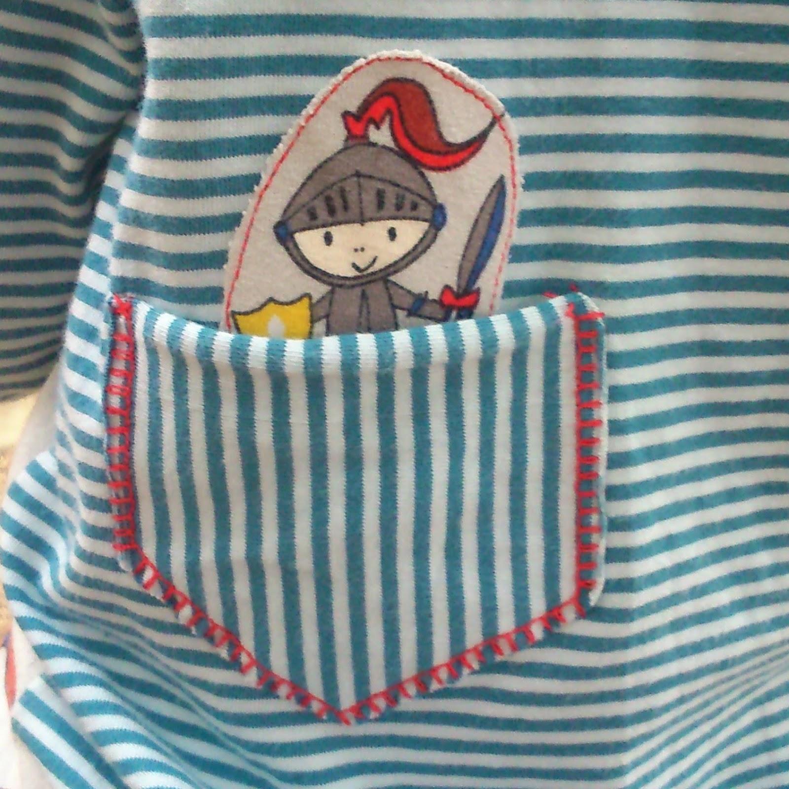 Pantlón y camiseta niño handmade