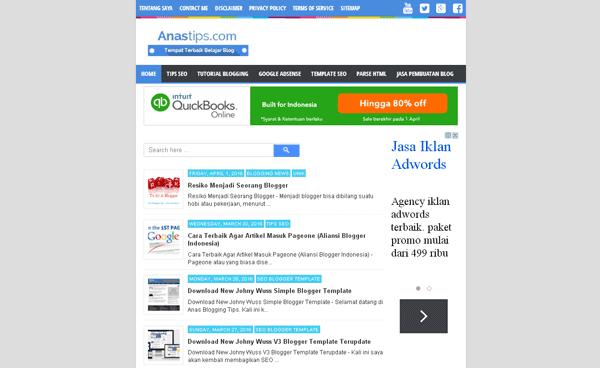 Tempat Terbaik Belajar Blogging, Tips Seo, Dan Google Adsense