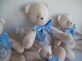 Ursos Azul e Bege – Baby shower