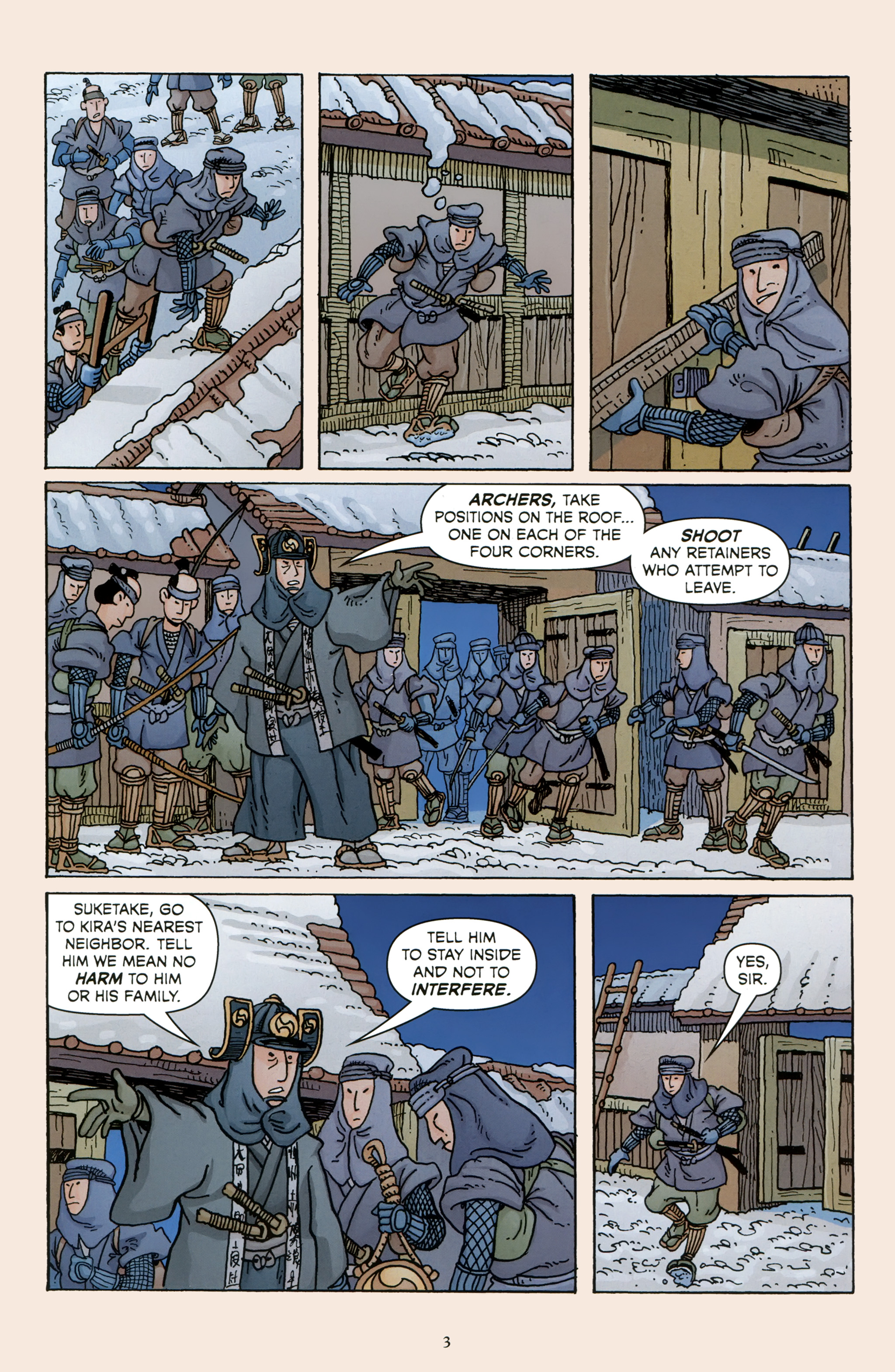 Read online 47 Ronin comic -  Issue #5 - 5