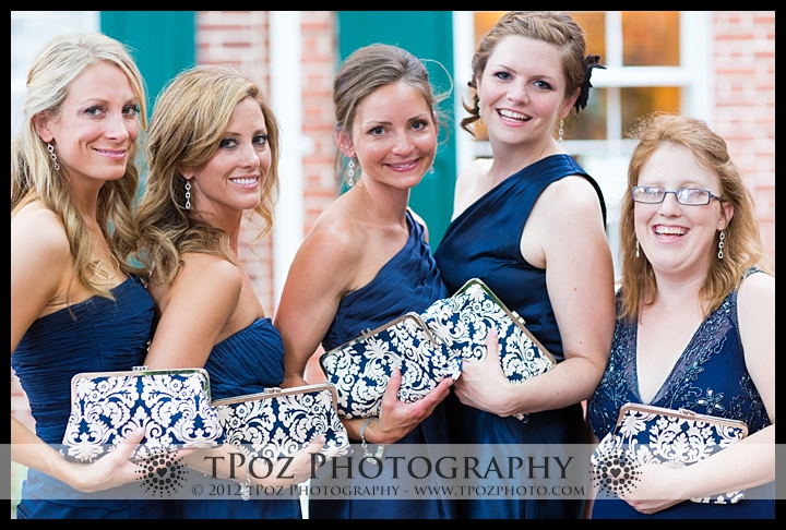 bridesmaid gift clutch makeup bag purse