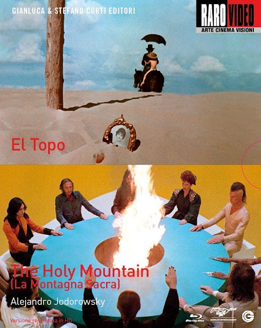 El topo, The holy mountain