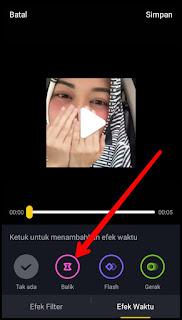 Cara membuat video mundur di Tik Tok dengan mudah 7