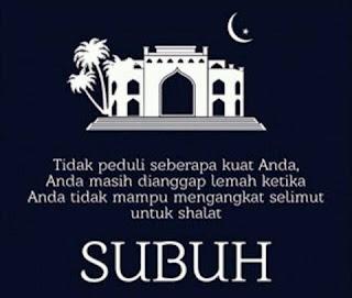 Keutamaan Shalat Shubuh dan Ashar