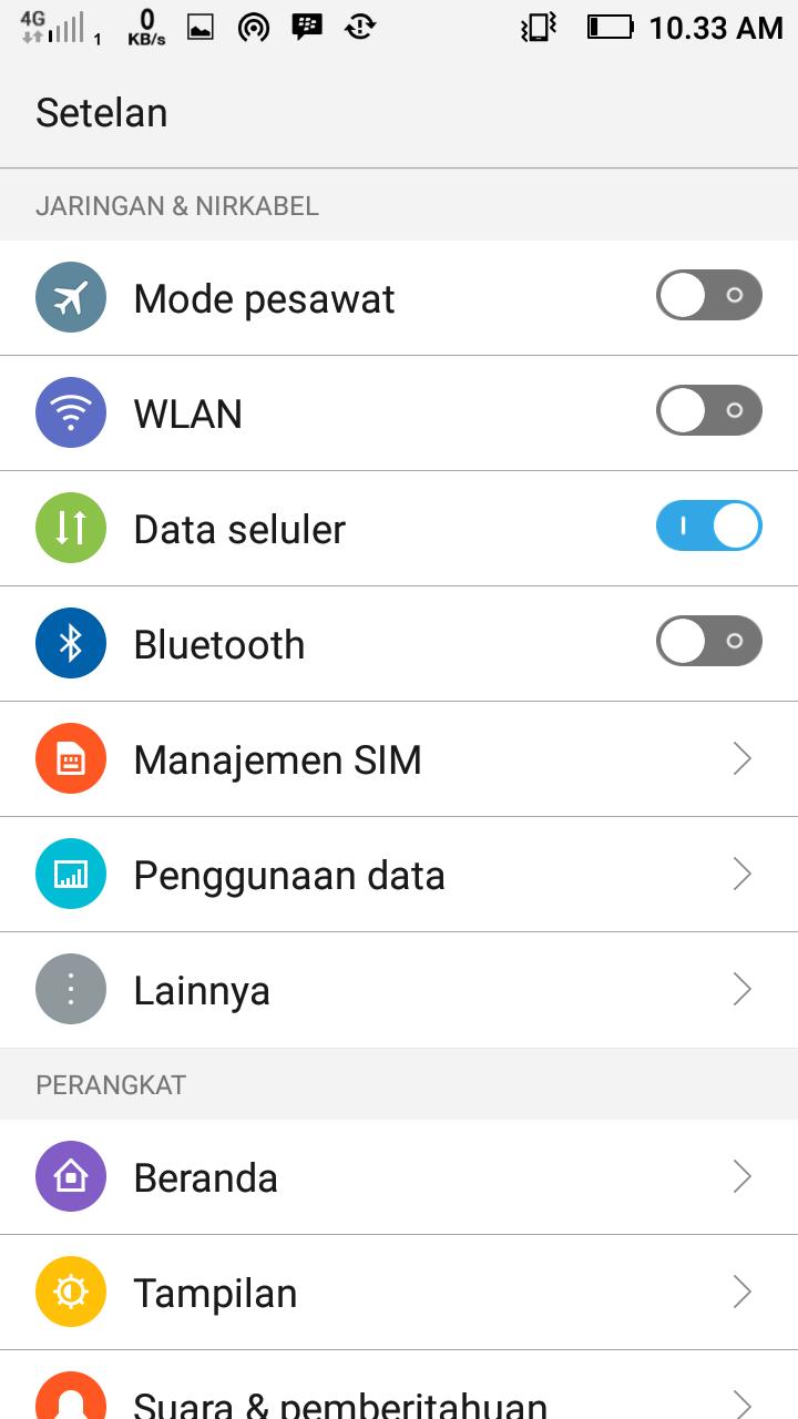 Cara Mengaktifkan   Menganti 3G ke 4G LTE di Android 2019 - Septian ... 953faea708