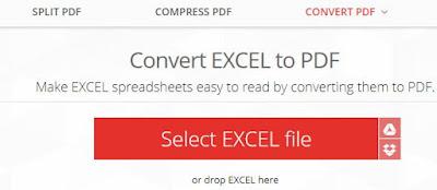 Merubah File Microsoft Excel Ke File PDF Dengan Cepat