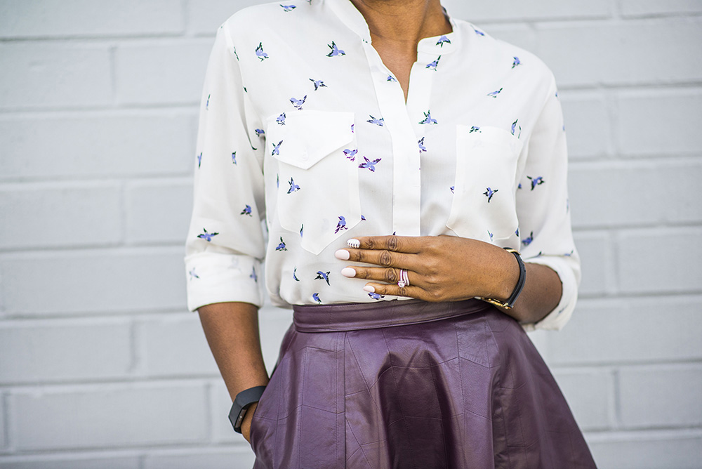 Work Inspired Fashion: Betabrand Boyfriend Shirt