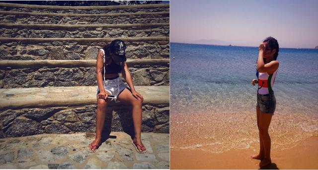 ملابس إبنة عمرو دياب تثير الجدل على الشاطئ ! ما رأيكم !!