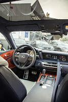 Lexus LC 500h - wnętrze