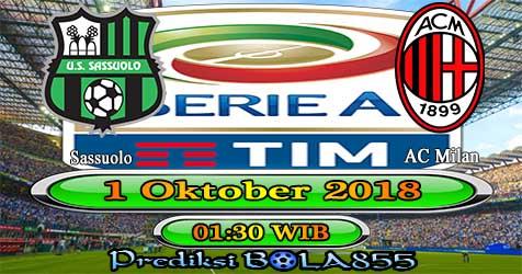 Prediksi Bola855 Sassuolo vs AC Milan 1 Oktober 2018