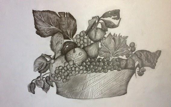 Disegni Di Cesti Di Frutta