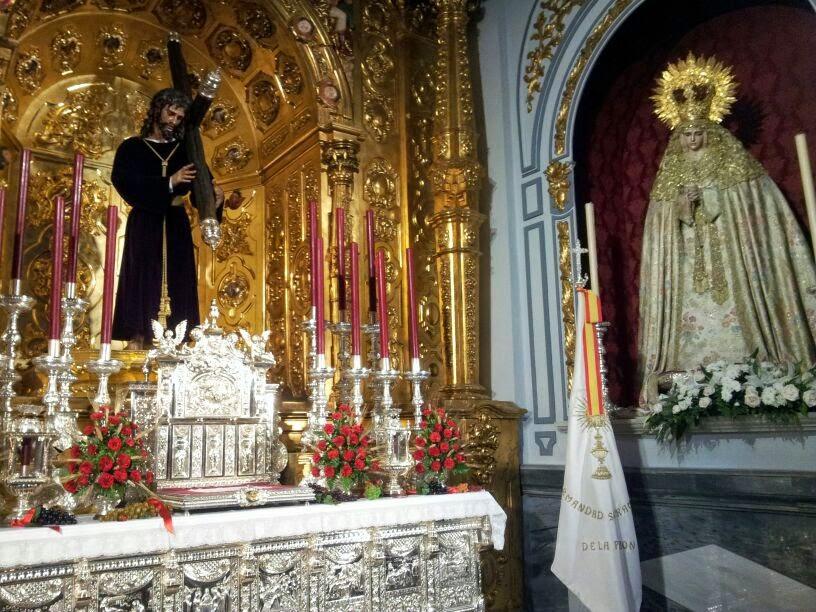 Costaleros de oviedo m laga la iglesia de los santos for Pasion amistad malaga