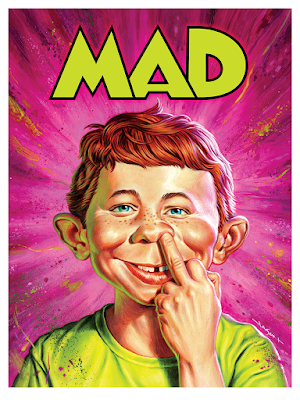 MAD Magazine Issue #1 Screen Print by Jason Edmiston x Mondo