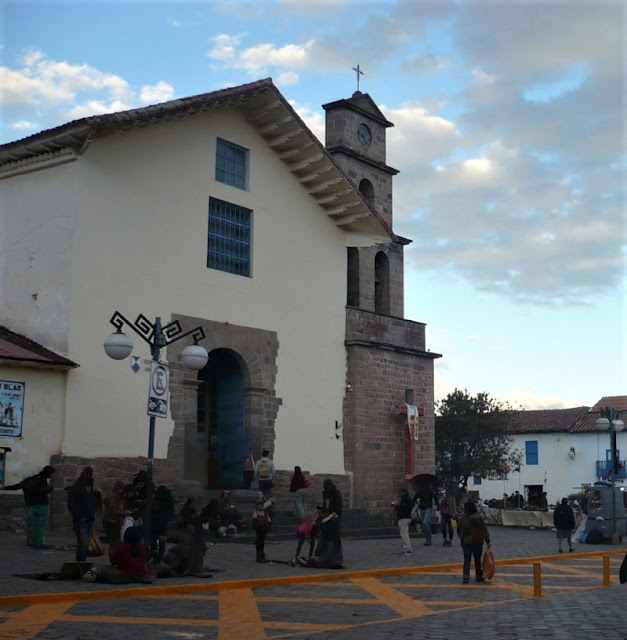 chiesa san blas cusco