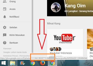 Cara Menemukan ID Google Plus Yang Hilang