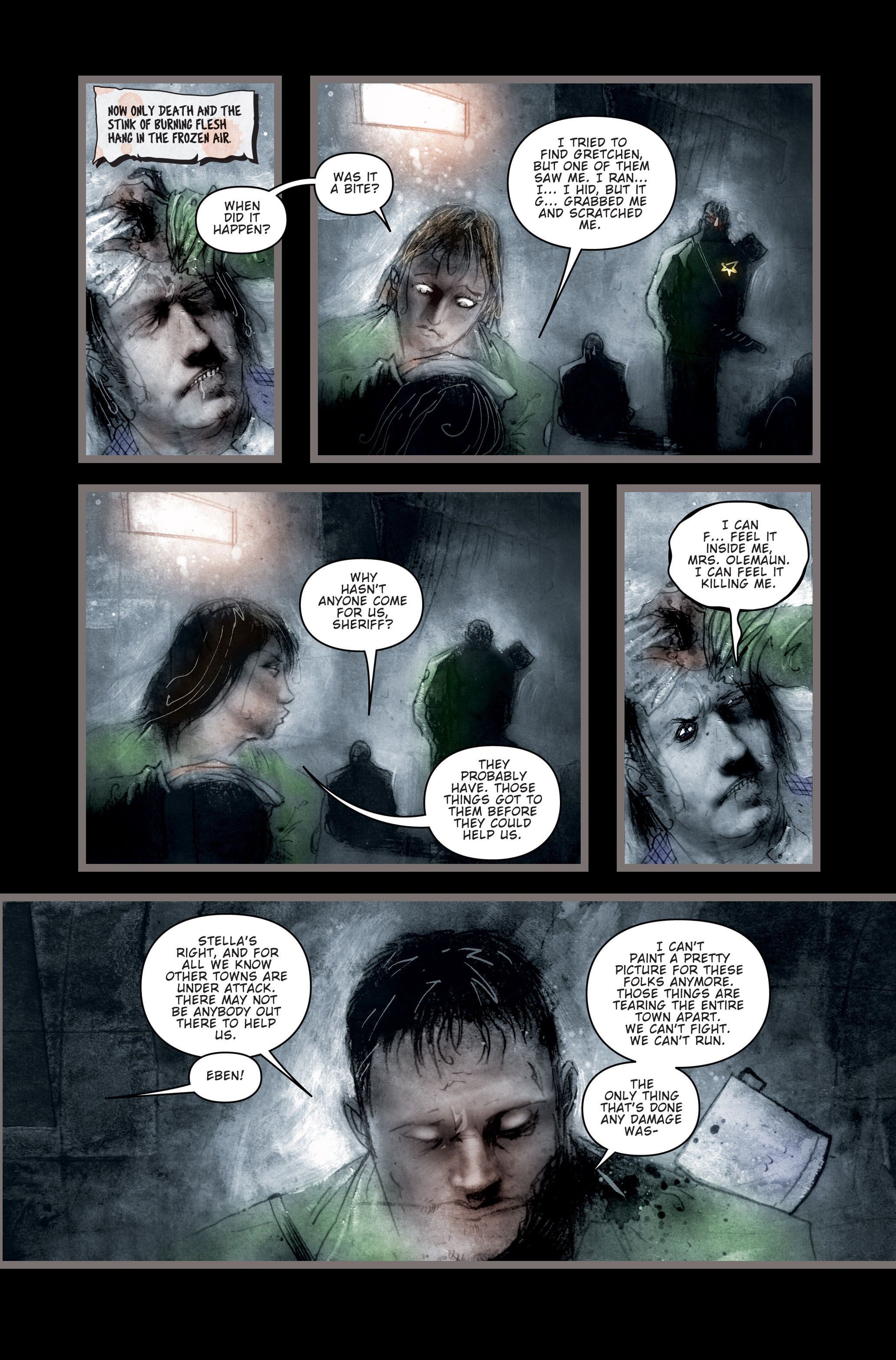 Read online 30 Days of Night (2002) comic -  Issue #3 - 4