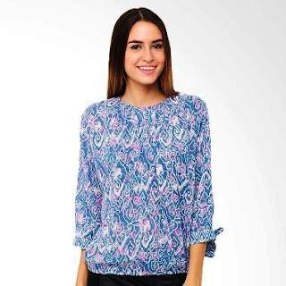 Model Baju Batik Kantor Wanita Elegan