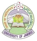 Jammu University Recruitment – Research Associate Vacancies – Last Date 22 May 2018