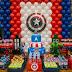 25 ideias para festa infantil do Capitão América!
