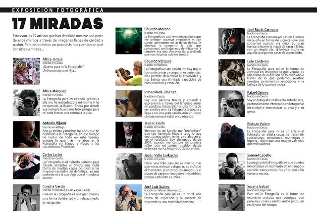 Exposición Fotográfica 17 Miradas