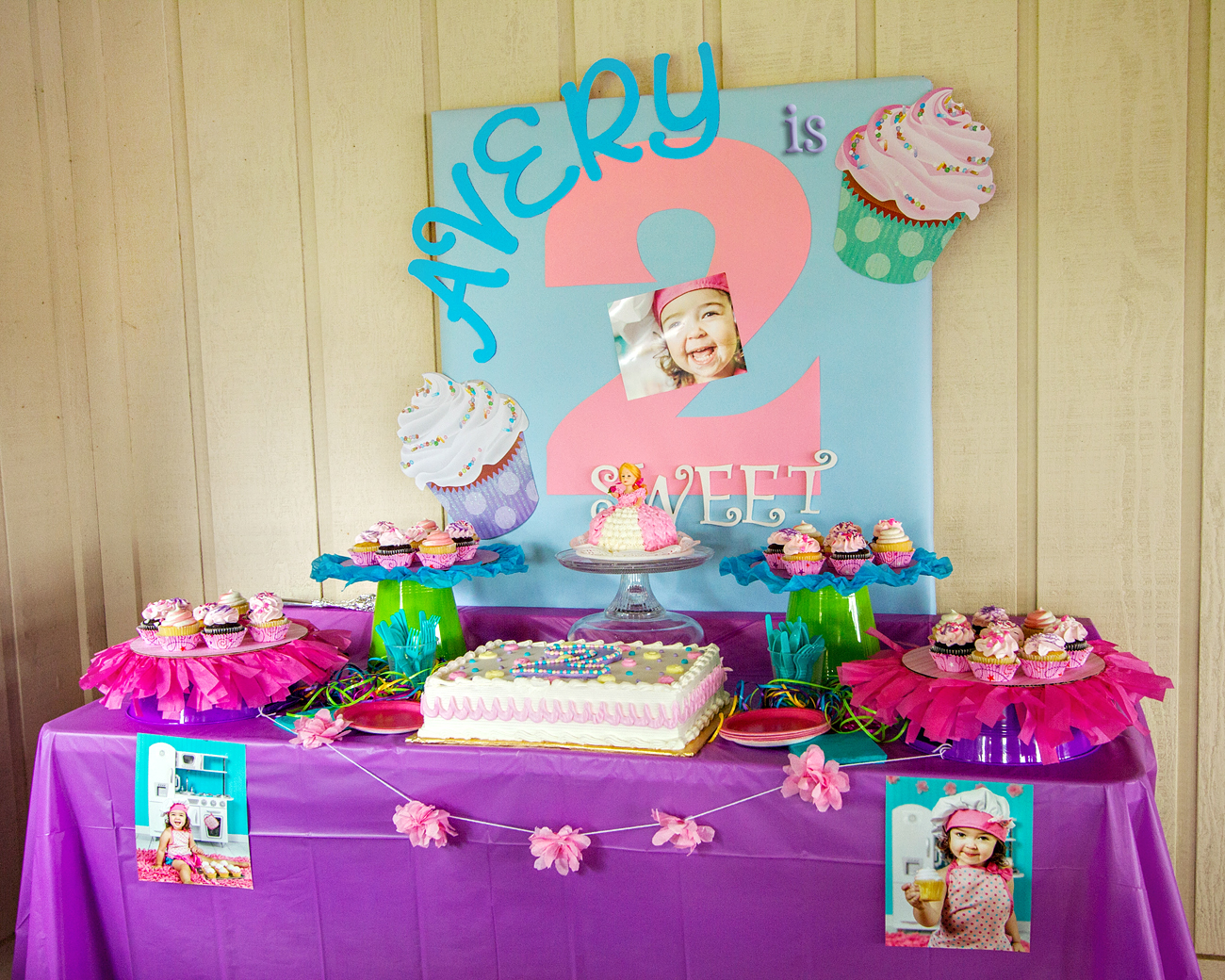 L Knack Photography Avery S Quot 2 Sweet Quot Birthday Party