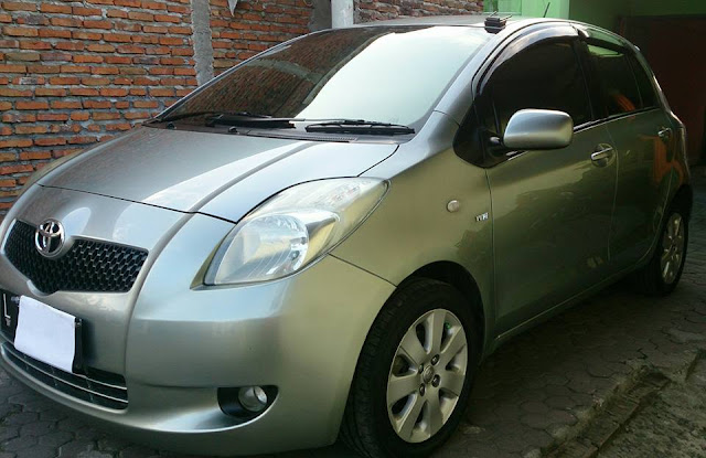 Toyota Yaris tahun 2007 bekas