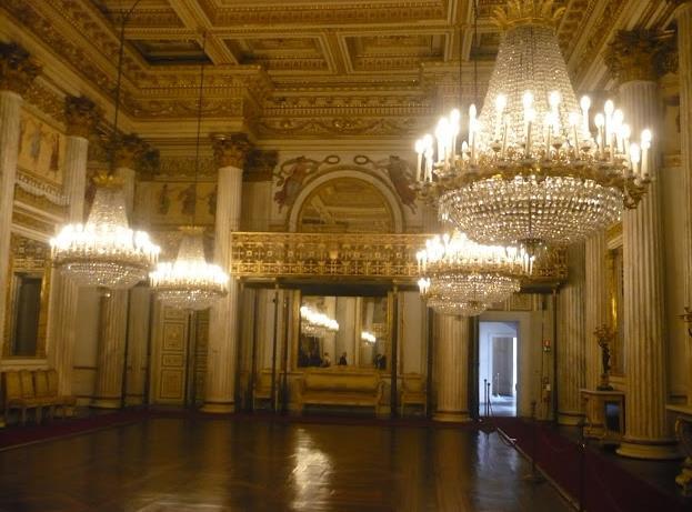 Palazzo Reale di torino: sala da ballo