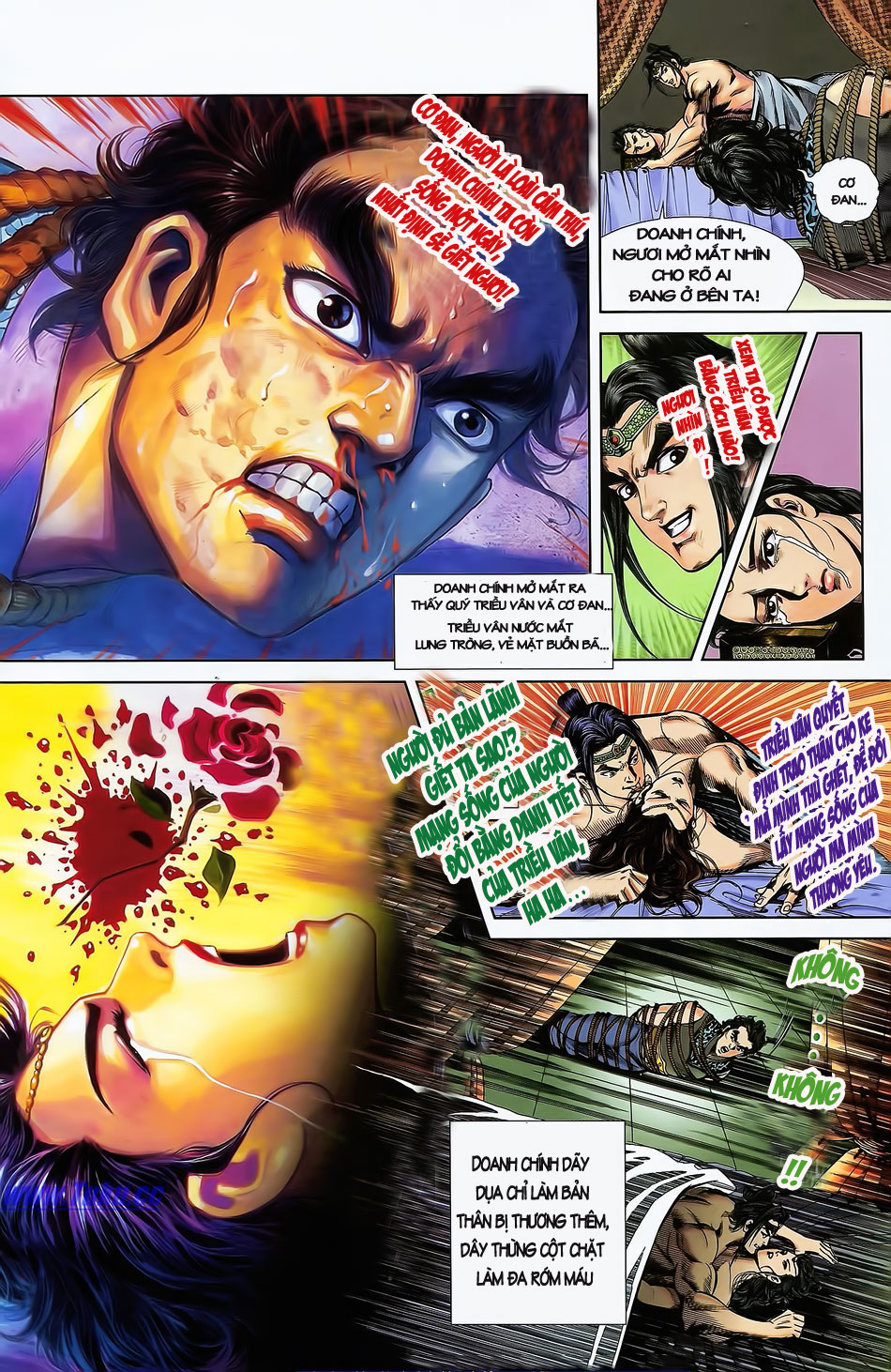 Tần Vương Doanh Chính chapter 2 trang 30