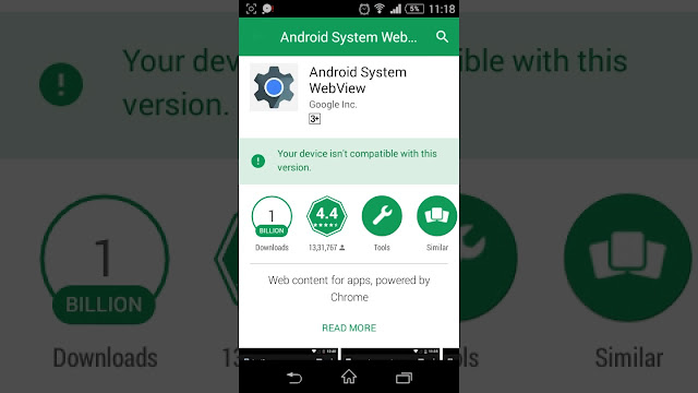 Download Android System Webview APK v72.0.36 to Get Bug Fixes and Speed Improvement