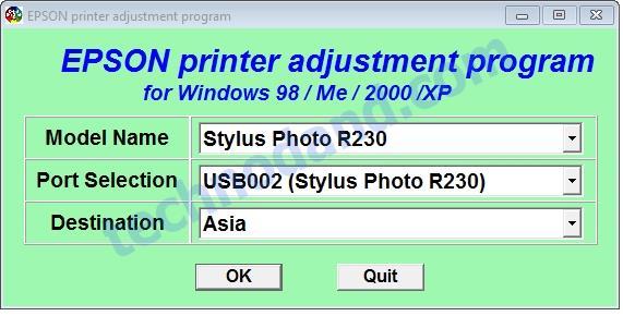Cara Reset Printer R230 dan R220 Lampu Indikator Berkedip