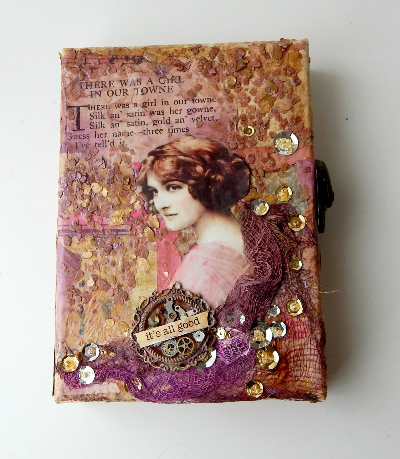 By Dapoppins, Finnabair Style, Vintage Romantic Lady, Collage