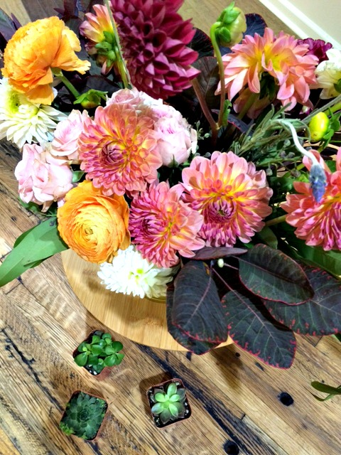 flower arranging, how to arrange flowers, flower tips and tricks