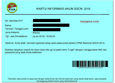 Cara Daftar Tes CPNS 2019 di sscn.bkn.go.id