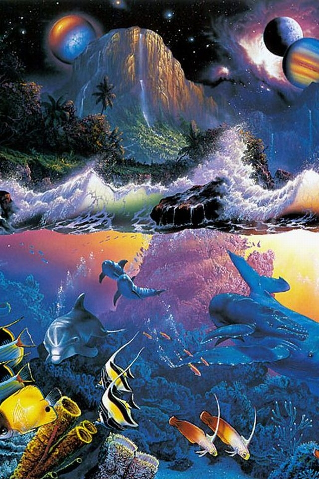 Cool iPhone Wallpapers: Christian Lassen Fantasy