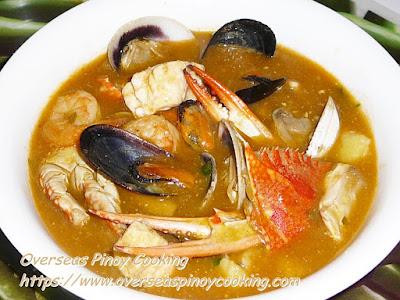 Seafood Bouillabaisse, Pinoy Style Recipe