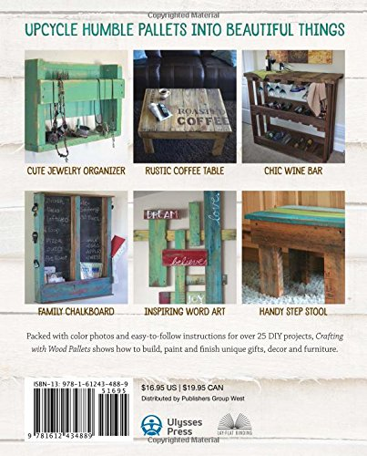 wood pallets, furniture, DIY, reclaimed wood, author, book, http://bec4-beyondthepicketfence.blogspot.com/2015/09/crafting-with-wood-pallets-pallet.html