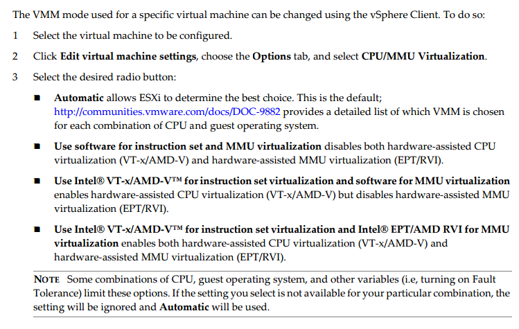 Virtualization The Future: Hardware Assisted CPU & MMU