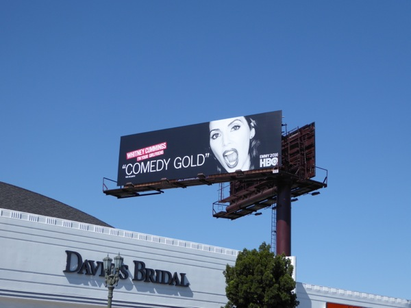 Whitney Cummings HBO 2016 Emmy FYC billboard