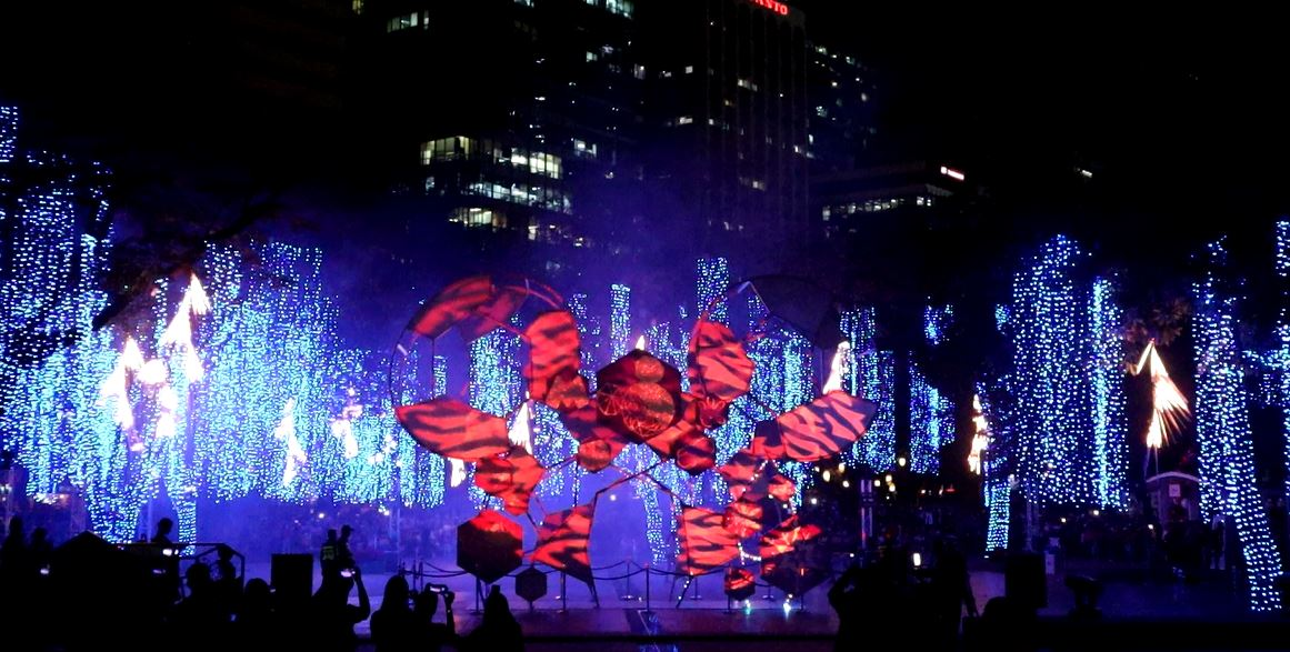 Disney-themed Festival of Lights at Ayala Triangle Makati now open