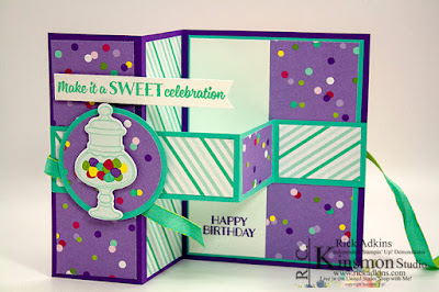 Sweetest Thing Bundle, Stampin' Up!, Rick Adkins, Birthday Card