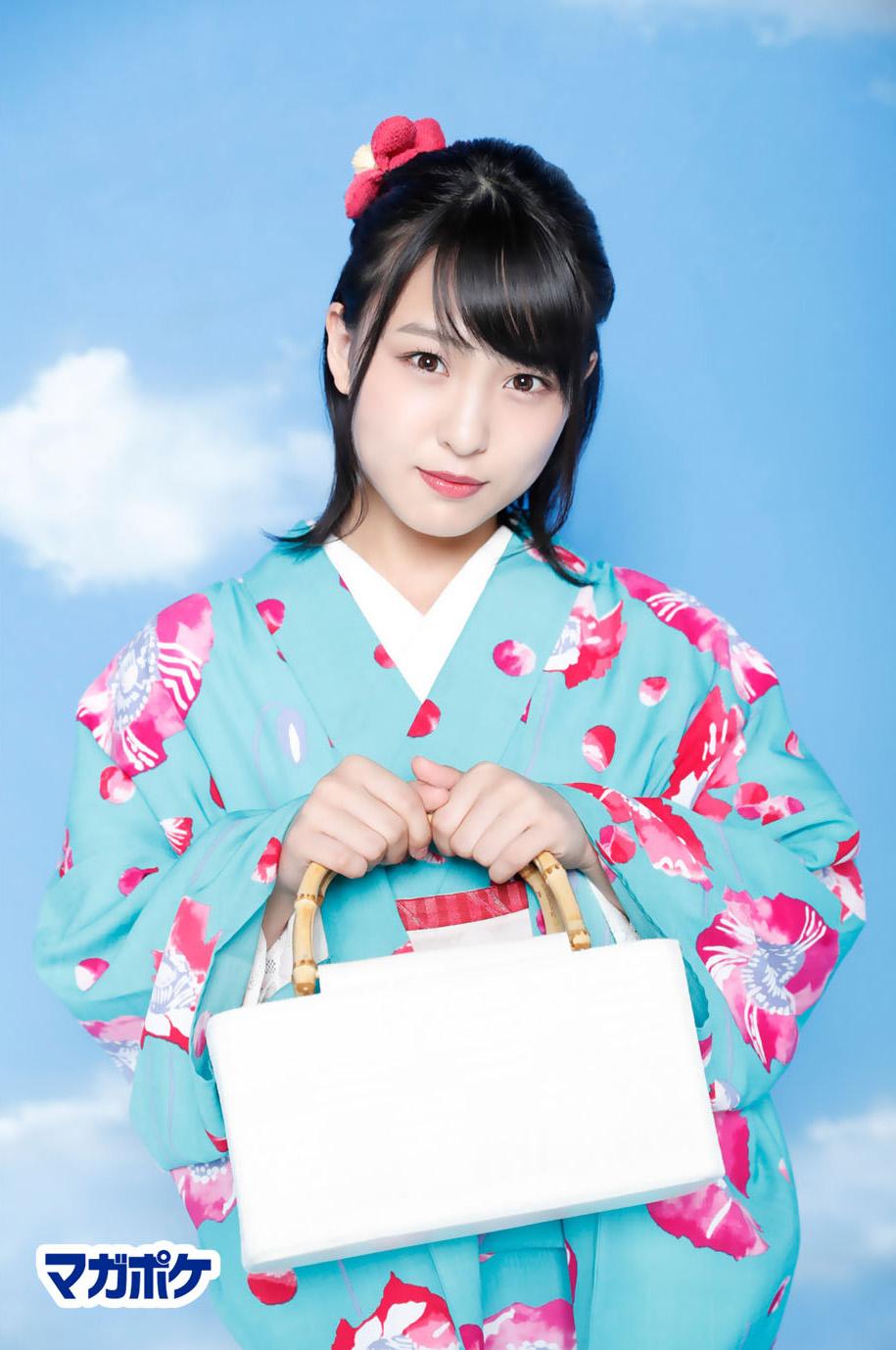 Yamada Nanami 山田菜々美, AKB48 Team8 x Weekly Maga Cover Competition
