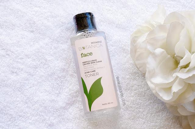 Mineral Botanica Gentle Liquid Leaves Skin Clear Review, Mineral Botanica Acne Care Review, Mineral Botanica skin care review, Produk perawatan kulit lokal yang bagus, produk perawatan kulit lokal yang direkomendasikan, produk perawatan kulit lokal untuk kulit berjerawat