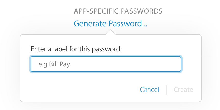 Using App-specific Passwords with Application Loader